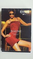 WOLFORD DIVINE DRESS stretchy bodycon 50968 4550 size L large in MAPLE gold
