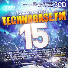 CD TechnoBase.FM Vol.15 von Various Artists  3CDs