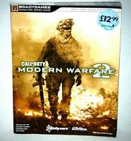 CALL OF DUTY MODERN WARFARE 2 BRADY GAMES STRATEGY GUIDE XBOX 360, PS3, PC