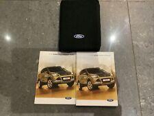 Ford Kuga Owners Handbook/Manual and Wallet 2012-2016