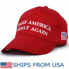 2019 Make America Great Again Donald Trump RED Hat Republican Embroidered Cap AT