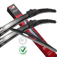Fit Citroen Xsara Picasso x3 set Front/Rear Windscreen Flat Aero Wiper Blades