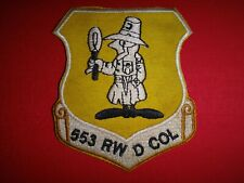 Vietnam War Patch Usaf 553rd Reconnaissance Wing At Korat Royal Thai Air Base