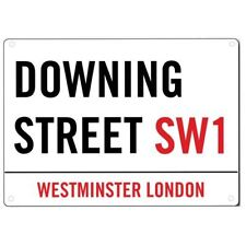 Rectangle London Street Metal Decorative Plaques & Signs