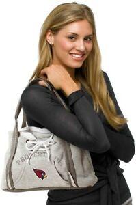 Arizona Cardinals Purse Hoodie Handbag NFL Ladies Embroidered Logo