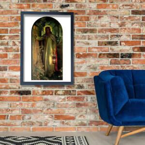 William Holman Hunt - The Light of the World Wall Art Poster Print