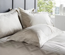K by Kelly Hoppen Deco Luxe 100% Cotton 6 Piece Duvet Set Taupe KING New