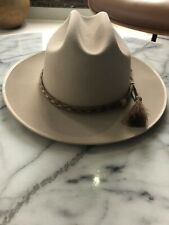 Stetson 6X Open Road Silverbelly Felt Cowboy Hat 7 3/8