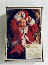 NEW HALLMARK Classic Baby Santa Holiday Christmas Cards & Envelopes