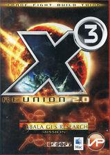 X3 Reunion 2.0 Includes Bala Gi 's Research Missions Mac OS und Windows NEU