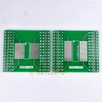 2pcs NEW TSOP56 TSOP48 to DIP Adapter PCB Board Converter Double Sides DIY F13