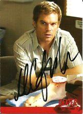 2009 Dexter 1st First Season Michel C Hall Signed Card JSA DNA COA