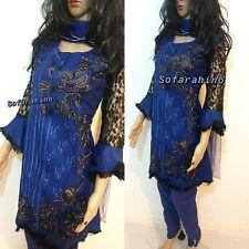 Designer Salwar Kameez Indian Pakistani Ethnic Bollywood Dress Readymade Suit 12
