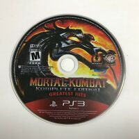 Mortal Kombat -- Komplete Edition ( PlayStation 3,) PS3 DISC ONLY! Greatest Hits