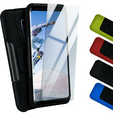 Curb Set for Samsung Galaxy S9 plus Curb Foil and Case 360° Extreme Outdoor