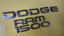 DODGE RAM 1500 LETTERING EMBLEMS