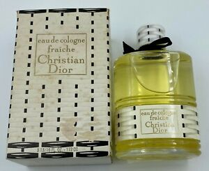 Christian dior FRAICHE EAU DE COLOGNE 112 ML 4 fl oz VINTAGE