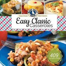 EASY CLASSIC CASSEROLES - GOOSEBERRY PATCH (COR) - NEW BOOK