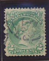 Canada Stamp Scott #24, Used