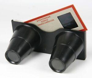 Realist 3D Stereo slide viewer economy priced Grab Light for stereo slides