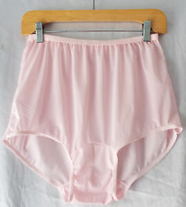 Double-Layer Nylon Crotch Classic Panties Sizes 7 & 8 SofterSilk Made in USA NEW