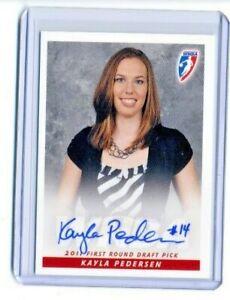 Kayla Pedersen 2011 WNBA Rittenhouse Archive Certified On Card Autograph Auto