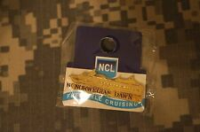 Insignia Crest Hat Pin Mini Badge Norwegian Dawn Cruise Ship NCL Freestyle Line
