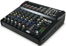 Alto ZMX122FX 8 Channel Compact PA Mixer with Effects - Compact DJ Karaoke Mixer