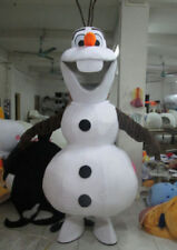 New Olaf Snowman Mascot Costume Adult Size Top Quality The Same as Picture