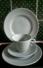 Vintage Wood's Ware Green 1940/50's Beryl Design Trio Set and Plate