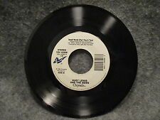 """45 RPM 7"""" Record Huey Lewis & The News Small World Part I & II 1988 VS4 43306"""