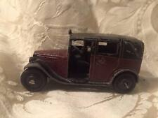 Dinky Toys MECCANO England #36g TAXI with Driver - PREWAR