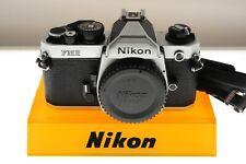 Nikon FM2n chrome manual professional SLR. EXC+ condition. +strap. Classic!
