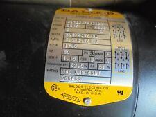 New Baldor Electric M3304 3 Phase Ac Motor 3 Hp 208 230460 Vac 1725 Rpm