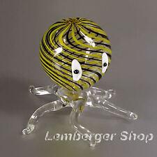 Statuette pieuvre fait main de verre coloré . Le diamètre 7 cm Beau des cadeaux