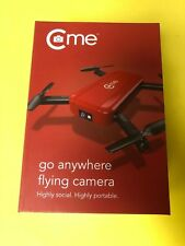 C-me Cme WiFi FPV Selfie Drone With 8MP 1080P HD Camera - Red - Brand New