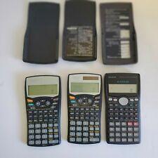 3 Calculator Cassio,fx 100ms Sharp EL-520W, EL531