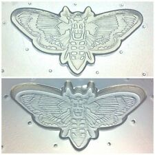 Flexible Resin Or Chocolate Mold Death Head Moth Butterfly Halloween