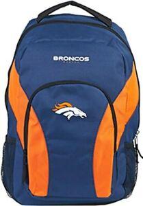 """Denver Broncos Backpack NFL DraftDay Green School Backpack 18"""""""