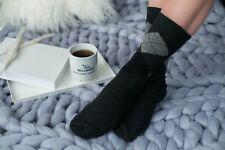 Genuine luxurious Handmade Unisex Men's Cashmere Warm Wool Socks |  Winter Socks