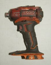 FOR PARTS NOT WORKING - Ridgid R86035 18V Cordless Lithium Ion Impact Driver