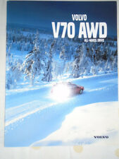 Volvo V70 AWD brochure 1998 Swiss market French text