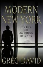 Modern New York: The Life and Economics of a City-ExLibrary