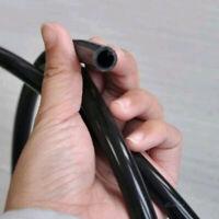 "Black 6mm 1/4"" Full Silicone Fuel/Air Vacuum Hose/Line/Pipe/Tube 1Meter 3.3ft"