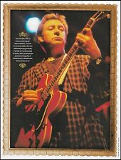The Police Andy Summers onstage with Gibson ES-335 guitar 8 x 11 pin-up photo