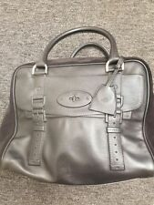 Mulberry Patternless Suede Outer Handbags