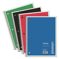 Universal Office Products 66614 1 Sub. Wirebound Notebook, 8 X 10 1/2, College