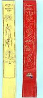 Leather Bookmark Australia Sydney Harbour Bridge Opera House Waratah Scrub Gift