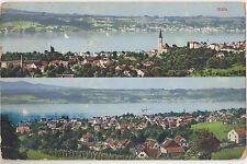 Gruss aus Stafa,Switzerland,2 Bird's Eye Views,Canton Zurich,Used,1920