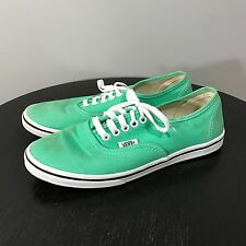 VANS Lace-Up Sneakers WMNs 5.5 Boat Tennis Shoes Skater Mint Green